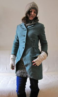 Of Dreams and Seams: The Amadeus Coat    This is a great tutorial on how to turn a boxy skirt suit into a super cute edwardian jacket for winter.  Love it!