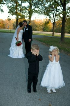 Adorable!! Wedding Photo shoot