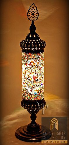 Show details for Mosaic Table Lamp