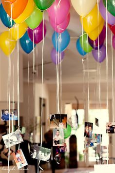 FocusingOnLife:  Balloons with snapshots
