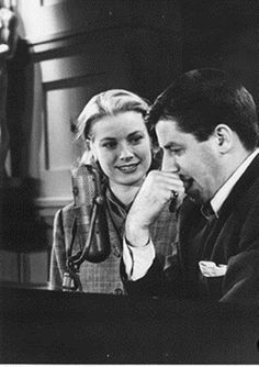 Grace Kelly and Jerry Lewis
