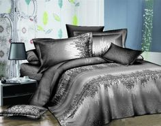 Fashion Bedding 3D Duvet Cover Set Satin Bedding, 3d Bedding, Linen Bedding, Bed Linens, Bed Sheets Online, Cheap Bed Sheets, Queen Sheets, Best Bedding Sets, Buy Bed