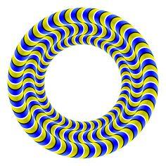 Akiyoshi Kitaoka - Rotating metallic snakes