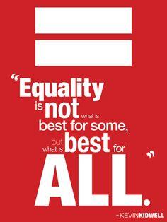 Políticas Globais: Nova Igualdade.