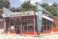 Carrols!  They had the best hamburgers and milkshakes.