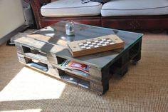 39 besten europaletten m bel bilder auf pinterest pallet ideas pallet wood und wood pallets - Europaletten wohnzimmertisch ...