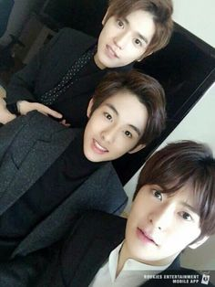 Taeyong, Winwin and Jaehyun #SMRookies