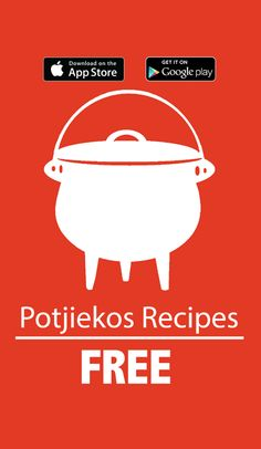 ‎Potjiekos Recipes on the App Store Dutch Oven Bread, South African Weddings, South African Recipes, Outdoor Food, Specialty Foods, Dinner Is Served, Recipe For 4, Love Food, Cooking