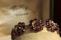 Bracelet 1900 en grenat (garnet) de Perpignan du bijoutier Velzy