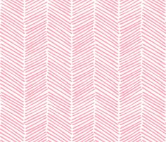 inside shelves...Freeform Arrows Large in soft coral fabric by domesticate on Spoonflower - custom fabric