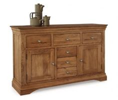 Philippe Oak Bedroom Furniture This timeless collection has been beautifully crafted from Solid Oak using traditional construction methods to create Oak Bedroom Furniture, Large Sideboard, Solid Oak, Traditional, Storage, Home Decor, Purse Storage, Decoration Home, Room Decor