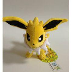 Pokemon Center 2012 Eevee Collection Jolteon Standing Plush Toy