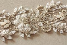Bridal sash - Paris Romance 26 inches from MillieIcaro