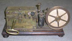 Télégraphe Morse 19ème siècle   © L'Adresse Musée de La Poste / La Poste, DR.