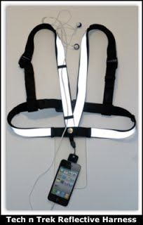Maker of a unique solution, designed for Phone/iPhone/iPod/iPad mini AAC devices, features –   ◦A comfortable, fully adjustable, washable harness that positions the mobile device out front, thereby maximizing accessibility and eliminating communication delays.  ◦An outward facing, wireless Bluetooth(TM) speaker (detachable or with case enclosure) that ensures your child will be heard..   ◦A securing component to protect the mobile device from loss or damage.