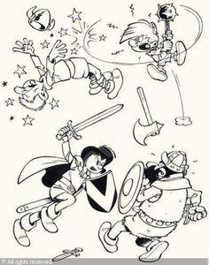 Johann und Pfiffikus, Johan et Pirlouit, Johan and Peewit Johan Et Pirlouit, Bd Art, Bd Comics, Classic Cartoons, Artist Gallery, Album, Smurfs, Illustrators, Fantasy Art