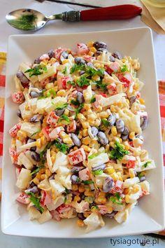 Sałatka meksykańska - kulinaria sałatka - kobiece inspiracje