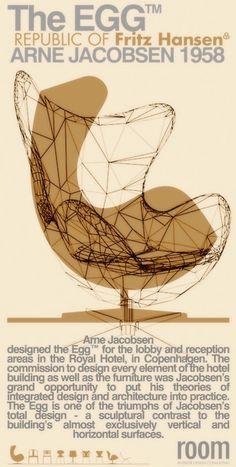 Egg chair, Arne Jacobsen