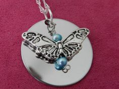 Personalize your Stainless steel Pendant with by LoveLsJewels, $15.00