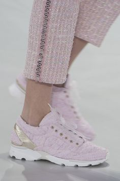 Sneakers at Chanel Runway Shows | POPSUGAR Fashion