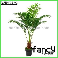 tall artificial palm tree, artificial tree leaves $10~$20