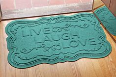 Aqua Shield Live, Laugh, Love Doormat