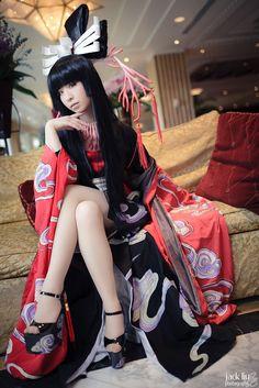 Yuuko Ichihara (xXxHolic) cosplay