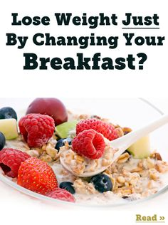 Learn how a high-protein breakfast immediately turns your fat-burning switch on and how traditional high-carb cereals shut it off and make you store fat!