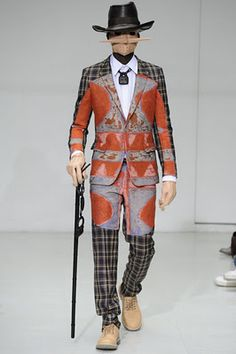 Delectably Disturbing 2012 Fall Menswear Collection From Walter Van Beirendonck.