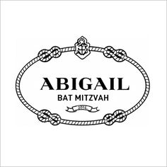 Bat Mitzvah Logos: Fashion Theme