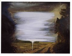 Thomas Helbig, Nachwelt, 2005. Oil on Wood. 60 x 80 cm