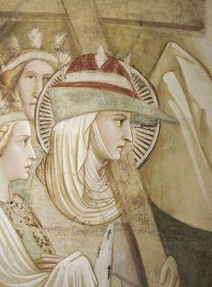 Il cappello a punta nell'abbigliamento femminile / The bycocket in women's garb