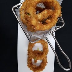 "1 Likes, 2 Comments - Maryam Ghargharechi (@maryamghargharechi) on Instagram: ""Breaded Onion Rings"""
