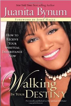 Walking in Your Destiny by Juanita Bynum, http://www.amazon.com/dp/1599790009/ref=cm_sw_r_pi_dp_VExaqb1NSZTPA