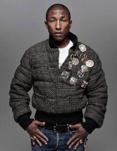 Pharrell for Harper's Bazaar's Man Korea September 2015 Issue