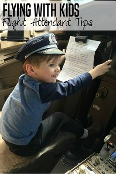 Flying with kids can be so nerve-wracking but these tips from a mom and flight attendant make it a little easier to attempt flying with kids!