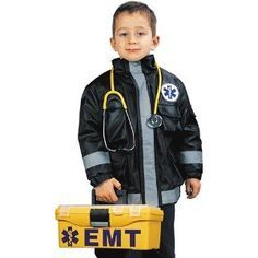kids paramedic halloween costume - Google Search  sc 1 st  Pinterest & Community helpers paramedic emt costume | Kid safety | Pinterest ...