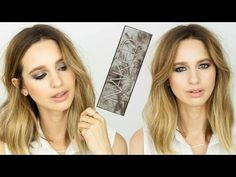 NAKED SMOKY: Jennifer Lawrence Classic Smokey Eye - YouTube