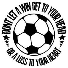 Soccer A Win Poster