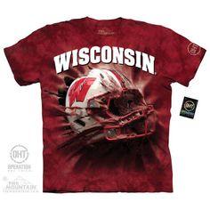 University of Wisconsin Badgers | WU Breakthrough Helmet