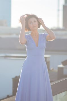 WONDER DRESS blue