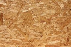 How to paint OSB. OSB, or Oriented Strand Board, is an engineered wood product often used as sheathing in walls, floors and roofs. Particle Board Floor, Osb Board, Painted Osb, Painted Plywood Floors, Painting Plywood, Painting Pressed Wood, Floor Painting, Osb Plywood, Wood