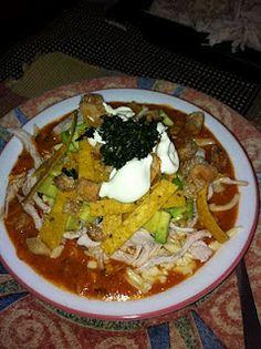 Sopa de Tortillas Mexicanas