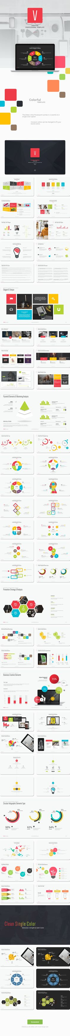 Get a modern Powerpoint Presentation that is beautifully designed and functional. This slides comes with infographic elements, charts graphs and icons.