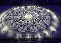Mulheres rendeiras Olimpíada Rio 2016 (Foto: Fabrizio Bensch/Reuters)
