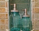 Mason jar soap dispenser!