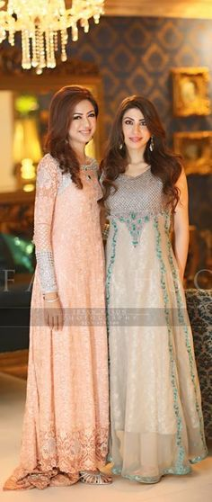 "Pakistani designer dresses by ""Teena"" by Hina Butt"