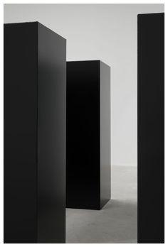 Maze (1967) by Tony Smith at the Matthew Marks Gallery.