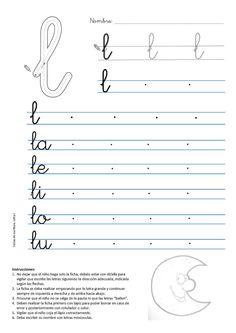 caligrafia-letra-l-luna