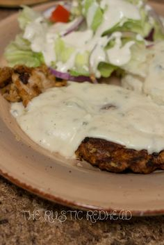Fried Pork Chops W/ Jalapeno gravy! Uses pickled jalapenos and bone-in chops.